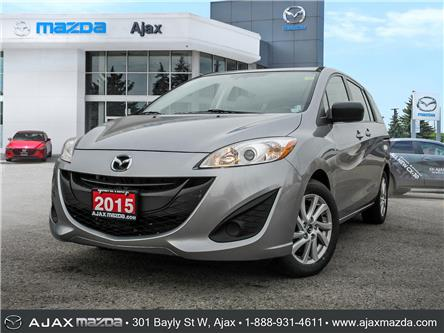 2015 Mazda Mazda5 GS (Stk: P5767A) in Ajax - Image 1 of 25