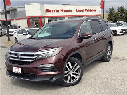 2017 Honda Pilot Touring (Stk: U17068) in Barrie - Image 1 of 26