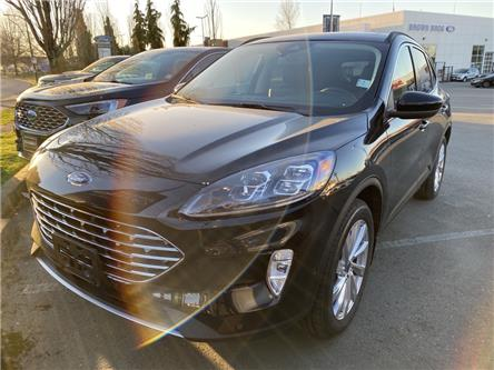 2021 Ford Escape Titanium Hybrid (Stk: 216247) in Vancouver - Image 1 of 9