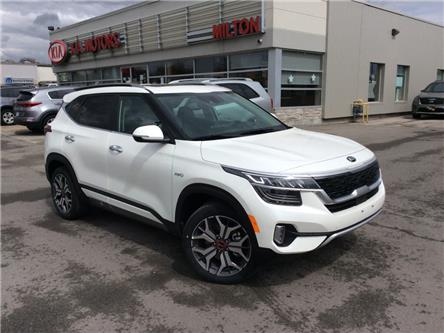 2021 Kia Seltos SX Turbo (Stk: 205130) in Milton - Image 1 of 12