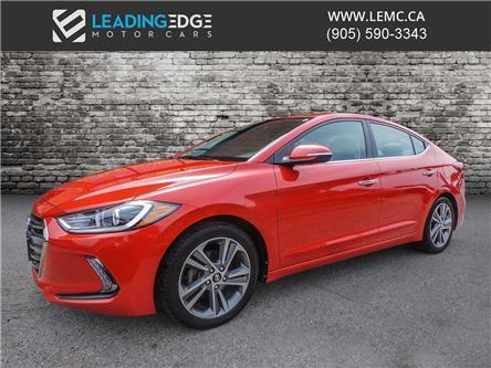 2017 Hyundai Elantra Limited (Stk: 10441) in King - Image 1 of 21