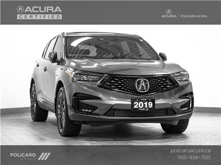 2019 Acura RDX A-Spec (Stk: 807538T) in Brampton - Image 1 of 29