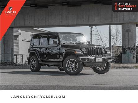 2021 Jeep Wrangler Unlimited Sahara (Stk: M681066) in Surrey - Image 1 of 26