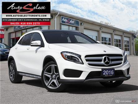 2016 Mercedes-Benz GLA-Class 4Matic (Stk: 1MGTA91) in Scarborough - Image 1 of 28