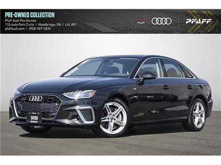 2020 Audi A4 2.0T Progressiv (Stk: C8286) in Vaughan - Image 1 of 25
