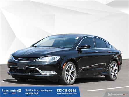 2015 Chrysler 200 C (Stk: U4691A) in Leamington - Image 1 of 30