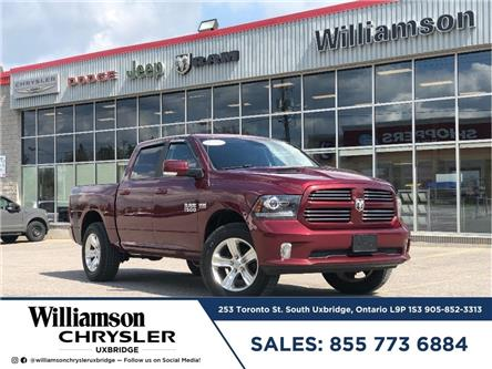 2017 RAM 1500 Sport (Stk: W6633) in Uxbridge - Image 1 of 21