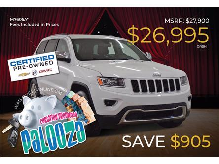 2015 Jeep Grand Cherokee Limited (Stk: M7605A) in Watrous - Image 1 of 43