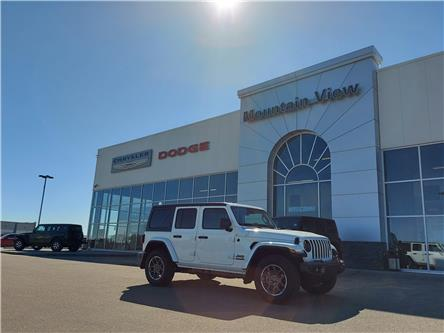 2021 Jeep Wrangler Unlimited Sport (Stk: AM080) in Olds - Image 1 of 24