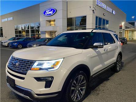 2019 Ford Explorer Platinum (Stk: OP21141) in Vancouver - Image 1 of 26