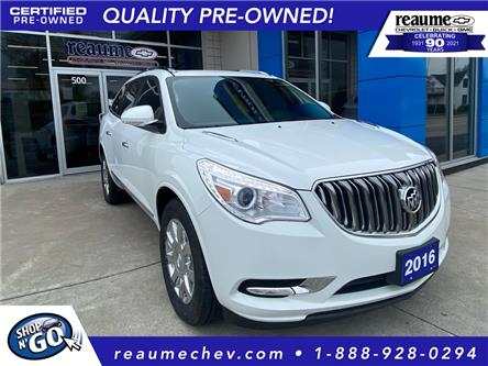 2016 Buick Enclave Leather (Stk: 21-0383A) in LaSalle - Image 1 of 25