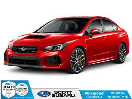 2021 Subaru WRX STI Sport-tech w/Lip (Stk: 804981) in Red Deer - Image 1 of 10