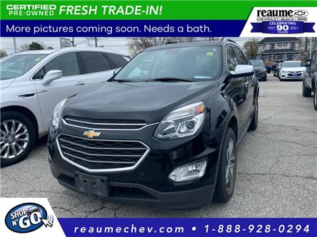 2017 Chevrolet Equinox Premier (Stk: 21-0182A) in LaSalle - Image 1 of 2