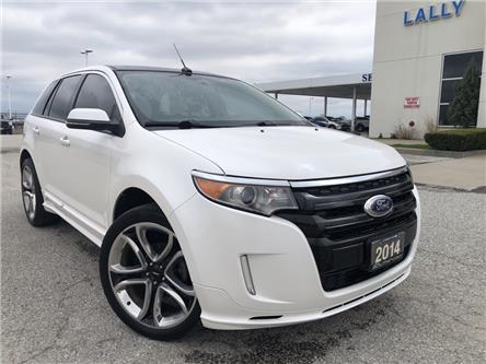 2014 Ford Edge Sport (Stk: S10592B) in Leamington - Image 1 of 26