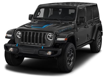 2021 Jeep Wrangler Unlimited 4xe Rubicon (Stk: 21-349) in Uxbridge - Image 1 of 2