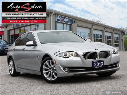 2013 BMW 528i xDrive (Stk: 1X3H4A1) in Scarborough - Image 1 of 27