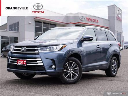 2017 Toyota Highlander XLE (Stk: HU5146) in Orangeville - Image 1 of 25
