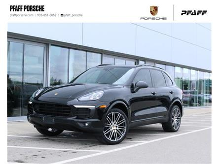 2017 Porsche Cayenne Platinum Edition (Stk: P16431A) in Vaughan - Image 1 of 27