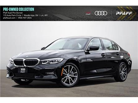 2020 BMW 330i xDrive (Stk: C8291) in Woodbridge - Image 1 of 23