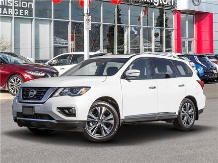 2020 Nissan Pathfinder Platinum (Stk: Z9037) in Burlington - Image 1 of 23