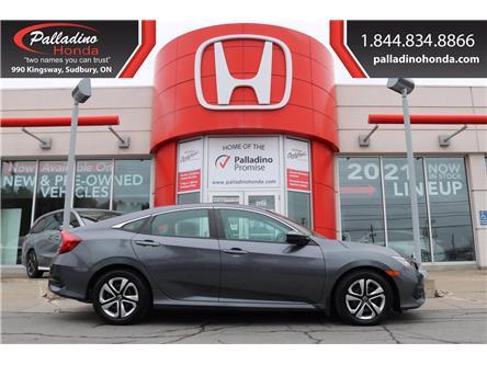2016 Honda Civic LX (Stk: 22137A) in Greater Sudbury - Image 1 of 30