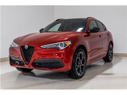 2021 Alfa Romeo Stelvio ti (Stk: AR0337) in Calgary - Image 1 of 21