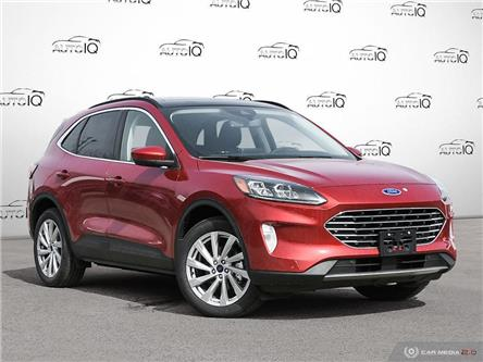 2021 Ford Escape Titanium Hybrid (Stk: 1T235) in Oakville - Image 1 of 27