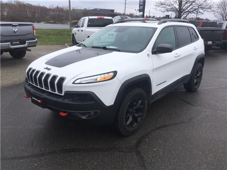 2017 Jeep Cherokee Trailhawk (Stk: 66711) in Sudbury - Image 1 of 18