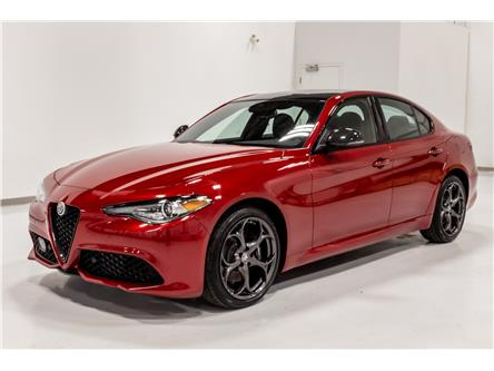 2021 Alfa Romeo Giulia ti (Stk: ARE0127) in Edmonton - Image 1 of 13