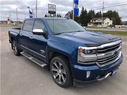 2018 Chevrolet Silverado 1500 High Country (Stk: 7598-21A) in Sault Ste. Marie - Image 1 of 12