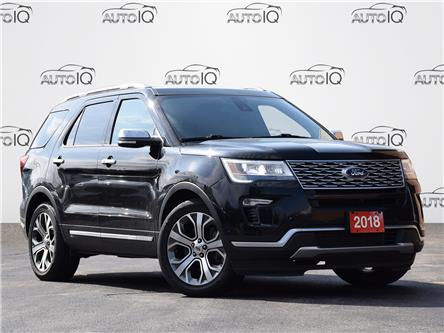 2018 Ford Explorer Platinum (Stk: IQ028) in Waterloo - Image 1 of 18