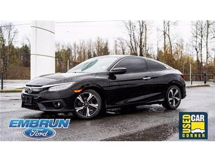 2016 Honda Civic Touring (Stk: 40-4321) in Embrun - Image 1 of 19