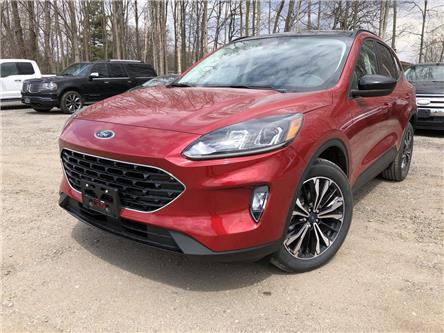 2021 Ford Escape SEL (Stk: ES21373) in Barrie - Image 1 of 22