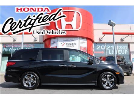 2019 Honda Odyssey EX-L (Stk: U9942A) in Sudbury - Image 1 of 34