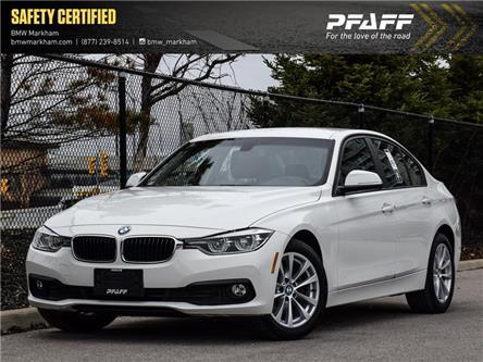 2017 BMW 320i xDrive Sedan (8E57) (Stk: O14174) in Markham - Image 1 of 22