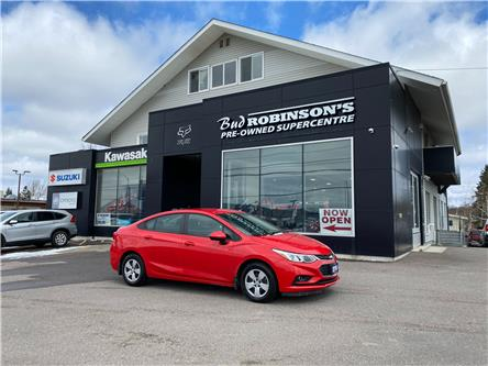 2018 Chevrolet Cruze LS Auto (Stk: ) in Sault Ste. Marie - Image 1 of 28