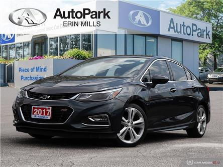 2017 Chevrolet Cruze Premier Auto (Stk: 142901AP) in Mississauga - Image 1 of 26