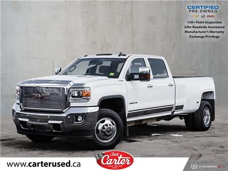 2016 GMC Sierra 3500HD SLT (Stk: 53705U) in Calgary - Image 1 of 27