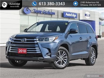 2018 Toyota Highlander XLE (Stk: A0612) in Ottawa - Image 1 of 27