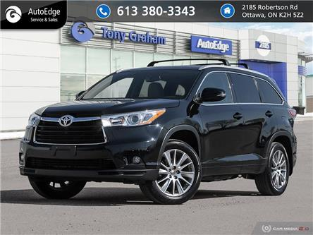 2014 Toyota Highlander XLE (Stk: A0621) in Ottawa - Image 1 of 27