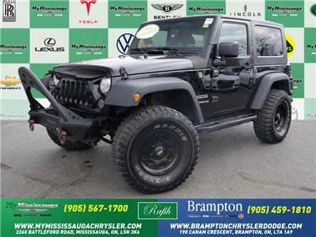 2017 Jeep Wrangler Sport (Stk: 1441) in Mississauga - Image 1 of 22