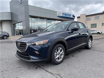 2021 Mazda CX-3 GS (Stk: 21T114) in Kingston - Image 1 of 15