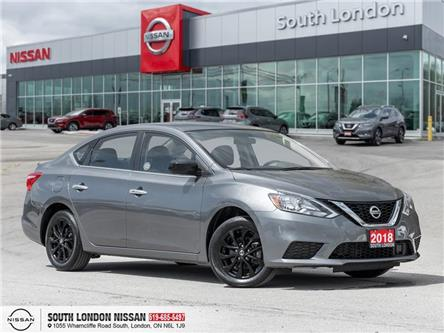 2018 Nissan Sentra 1.8 SV Midnight Edition (Stk: 14571) in London - Image 1 of 19