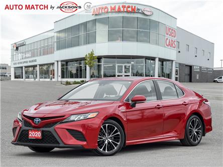 2020 Toyota Camry Hybrid SE (Stk: U4676) in Barrie - Image 1 of 19