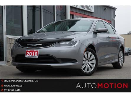 2016 Chrysler 200 LX (Stk: 21341) in Chatham - Image 1 of 20