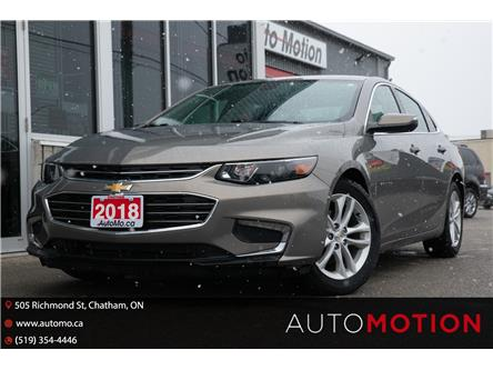 2018 Chevrolet Malibu LT (Stk: 21580) in Chatham - Image 1 of 21
