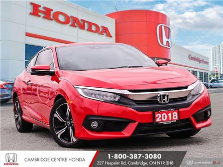 2018 Honda Civic Touring (Stk: 21555A) in Cambridge - Image 1 of 27