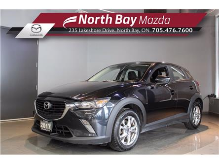 2017 Mazda CX-3 GS (Stk: 21117A) in North Bay - Image 1 of 22