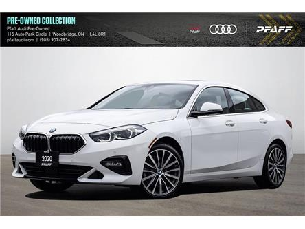 2020 BMW 228i xDrive Gran Coupe (Stk: C8278) in Woodbridge - Image 1 of 22