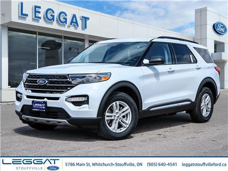 2021 Ford Explorer XLT (Stk: EX17576) in Stouffville - Image 1 of 25